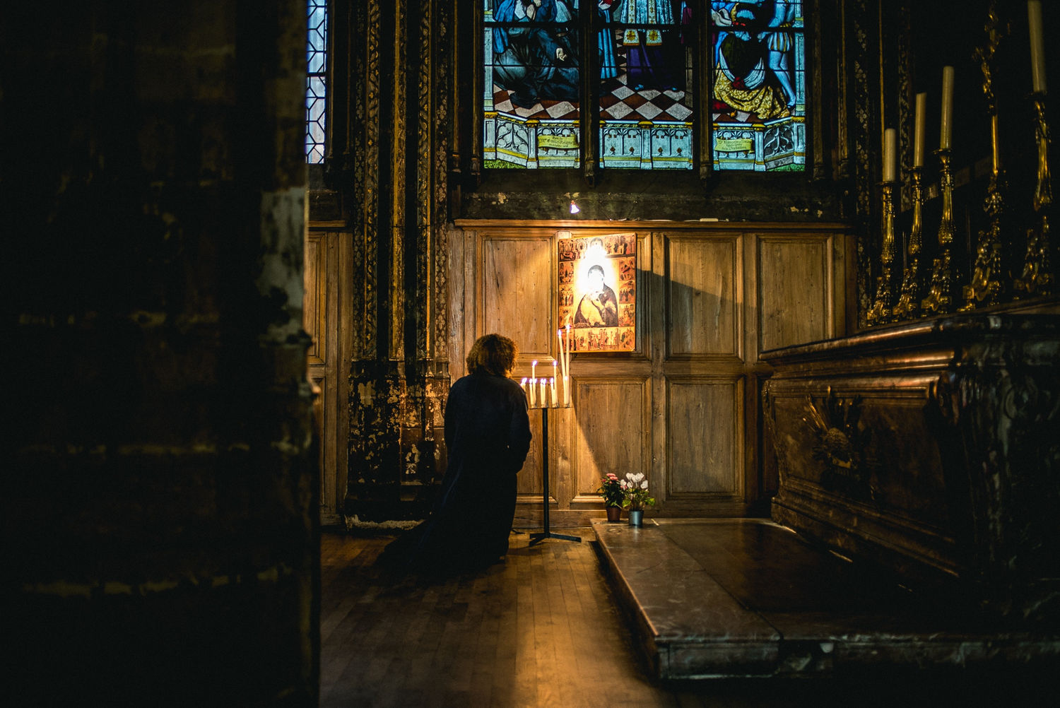 How to Pray in a Church